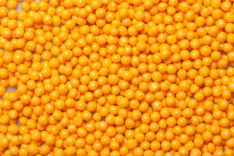 Rice Crispies Coloured orange